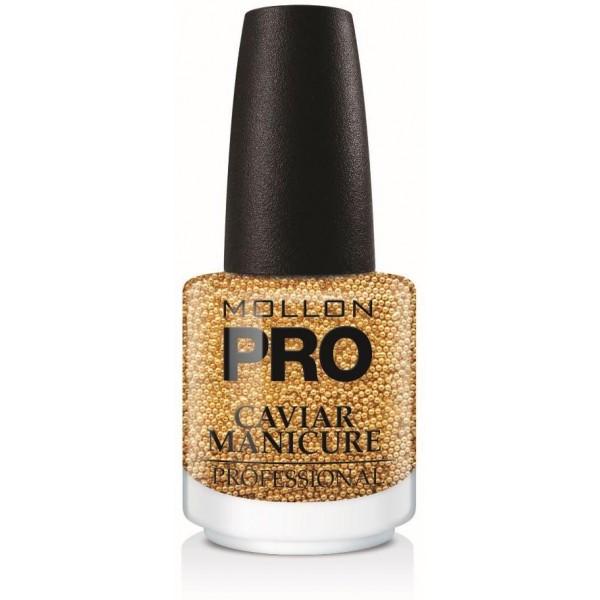 Caviar Manicure 02. Gold-