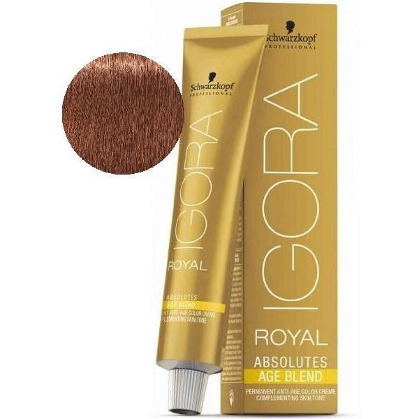 Igora Royal Absolutes Age Blend 7-560 Blond Moyen doré Marron