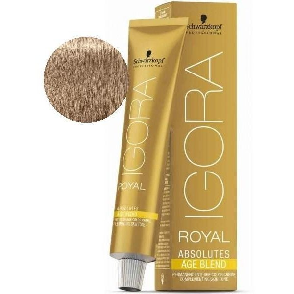 Igora Royal Absolutes Age Blend 8-140 Blond Clair Cendré Beige