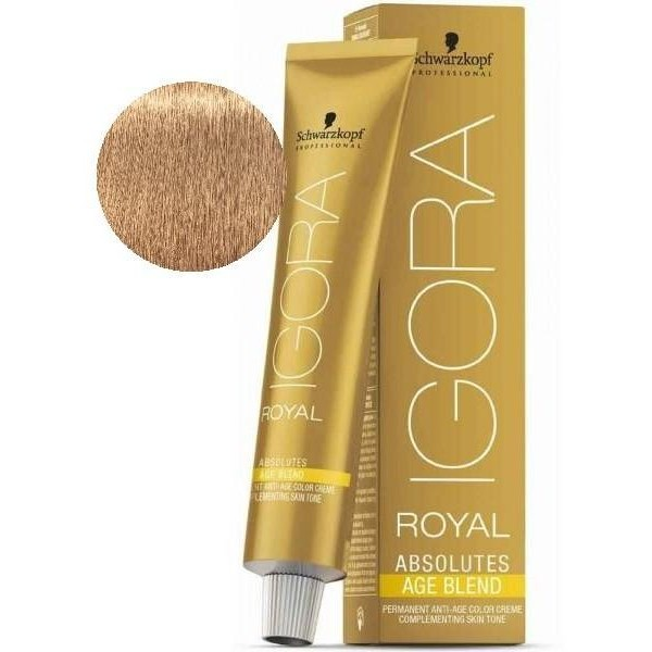 ed1f2566ca Igora Royal Absolutes Age Blend 9-560 Light Blond Gold Brown