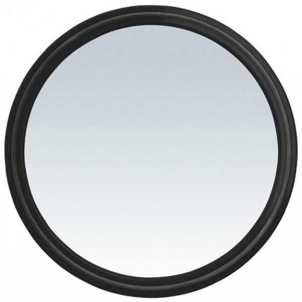 Specchio tondo Magic Mirror con impugnatura - nero