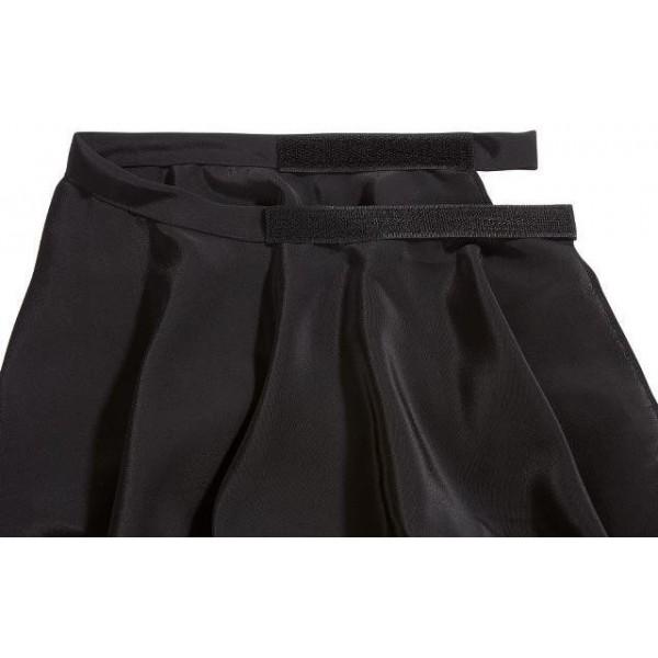 peignoir homme noir velcro. Black Bedroom Furniture Sets. Home Design Ideas