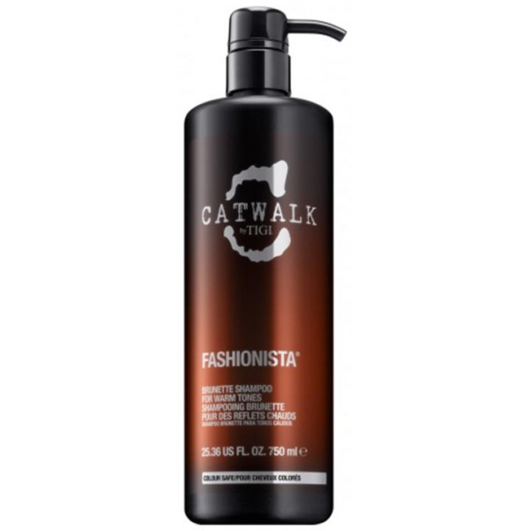 Tigi Catwalk Fashionista Shampoo 750ml Brunette