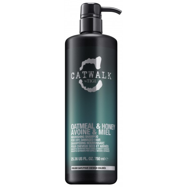 Shampooing Tigi Catwalk Oatmeal & Honey 750ml