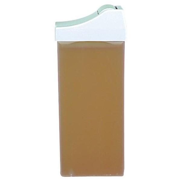Ricarica cera monouso applicatore stretto - Giallo - 100 ml