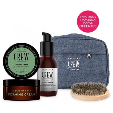 Father's Day Pack American Crew Wax Modelling Clay + Olio nutriente