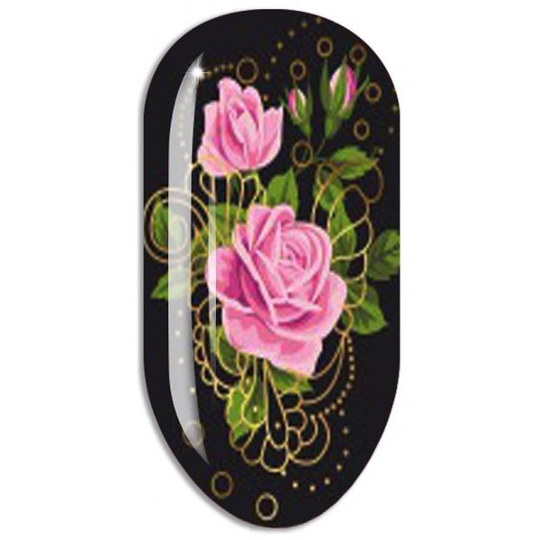 Stickers Nail ART Water Decals Mollon PRO - J059