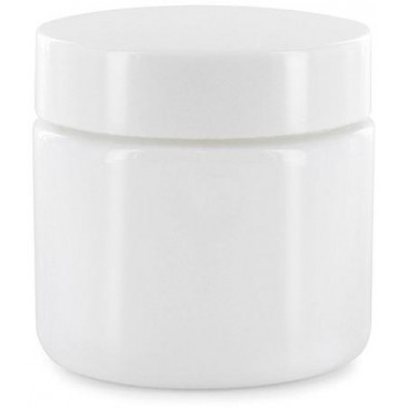 Pot Verre Opaline Blanc 50ml - PBI