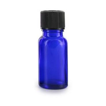 Flacon Aromatherapie Verre Bleu 10ml - PBI