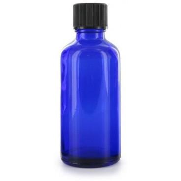 Flacon Aromatherapie Verre Bleu 50ml - PBI