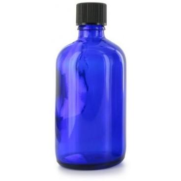 Flacon Aromatherapie Verre Bleu 100ml - PBI