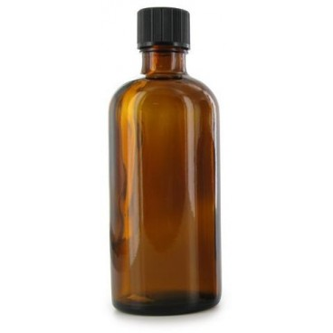 Flacon Aromatherapie Verre Ambre 100ml - PBI