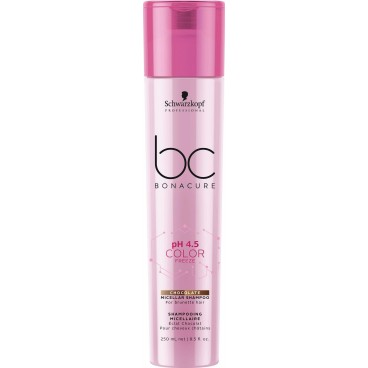 BC pH4.5 Color freeze Shampooing Micellaire effet chocolat 250 ML