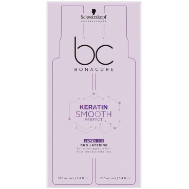 BC Kératin Smooth Perfect Double Phase 2x100 ML