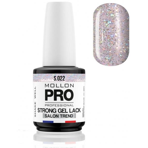 Nail permanente Soak Off Gel Lack Strong Aqua Quartz - 022