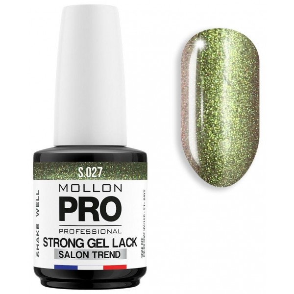 Nail permanente Soak Off Gel Lack Strong torbernite - 027