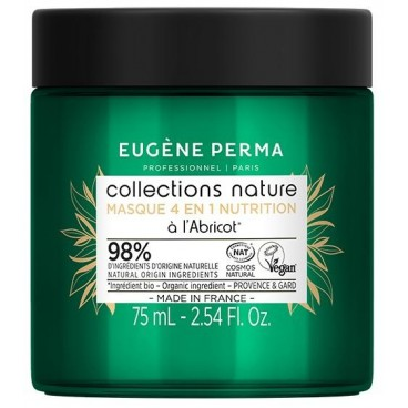 Masque 4 en 1 Nutrition Collections Nature Eugène Perma 75 ml