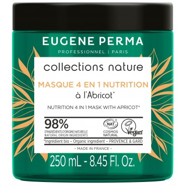 Masque 4 en 1 Nutrition Collections Nature Eugène Perma 250 ml