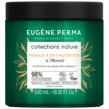Masque 4 en 1 Nutrition Collections Nature Eugène Perma 500 ml