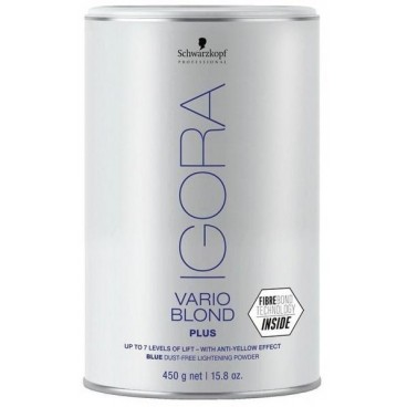 polvo de blanqueo Vario Blond más de 450 Grs