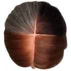 Tête apprentissage cheveux naturels 4 couleurs