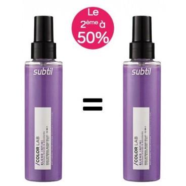 Pack Soin Intégral Subtil colorlab blond éclat 12 en 1 150ml -50% sur le 2e