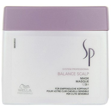 Masque cuir chevelu sensible SP Balance Scalp 400ml
