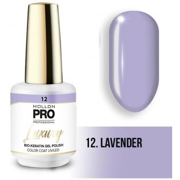 Vernis semi-permanent LUXURY N°12 Lavender Mollon Pro - 8ML