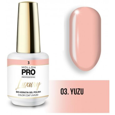Vernis semi-permanent LUXURY N°3 Yuzu Mollon Pro - 8ML