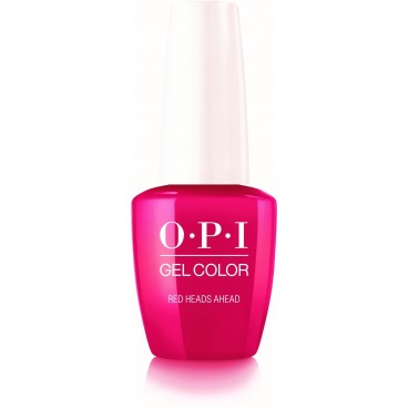 OPI Gel Color - Red Heads Ahead - 15ML