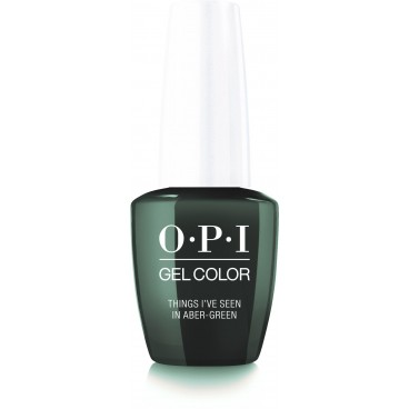 OPI Gel Color - Things I've Seen in Aber-green - 15ML