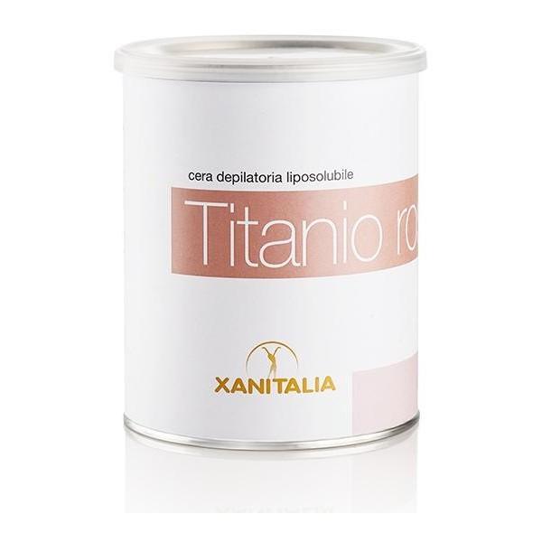Einweg-Wachs fettlöslicher Titanium Pot Rose 800ml - sensible Bereiche