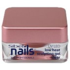 Gel UV / Led Modeling Clear Low Temperature Sibel Nails 15ml