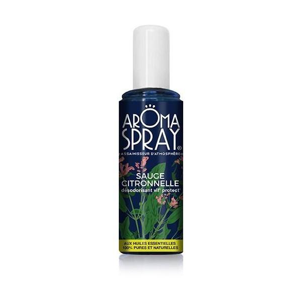 Aroma Spray Sauge Citronnelle 100ml