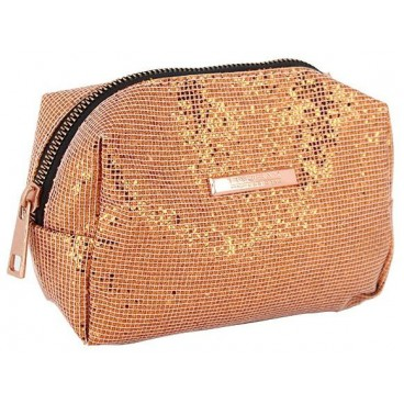 Pochette pailletée rose gold Parisax