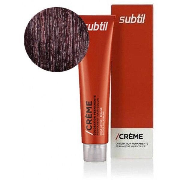 Subtil Crème N° 5.62 Châtain Clair Rouge Irisé 60ml