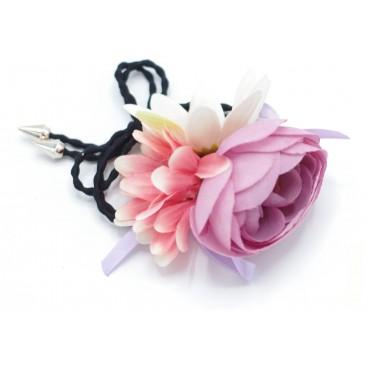 Image of Fiore elastico Stella Rose Verde