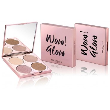 Palette highlighter WOW GLOW! Mesauda Milano