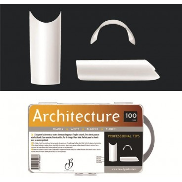 Architecture blanches - 100 tips Beauty Nails