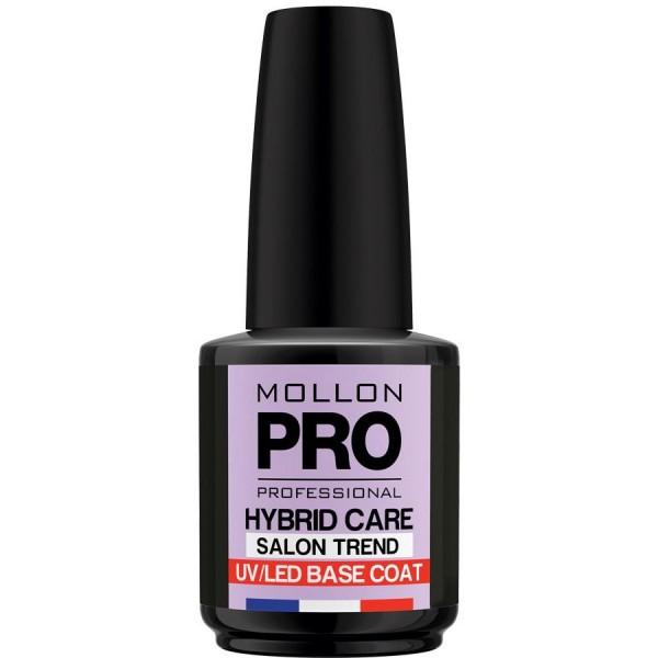 Base Coat Semi-Permanent Varnish Hybrid Shine Mollon Pro 15ml