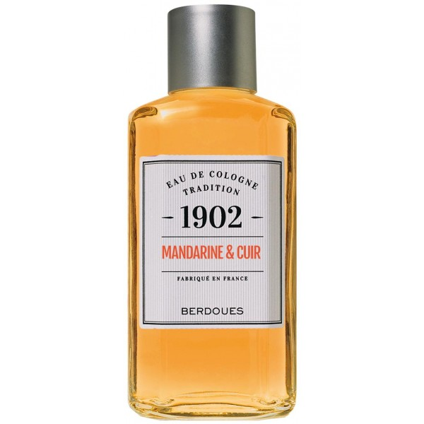 Cologne Berdoues Mandarin and Leather ML 480