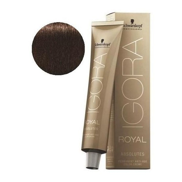 Igora Royal Absolutes 4-60 Châtain Marron Naturel 60 ML