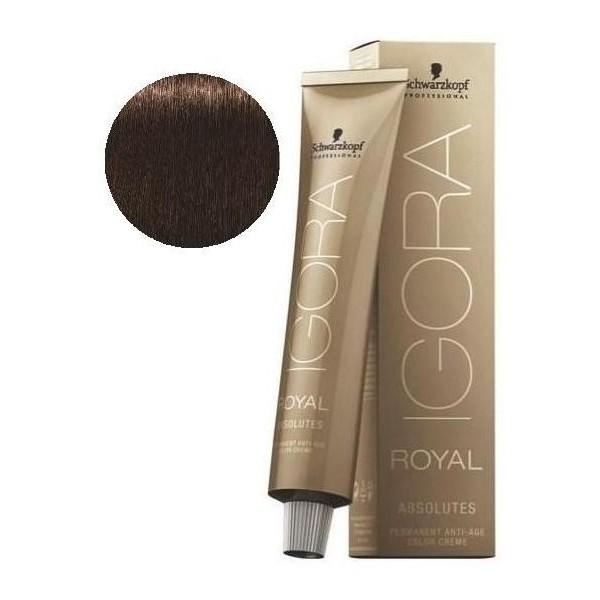 Igora Royal Absolutes 4-60 Chestnut Brown Natural 60 ML