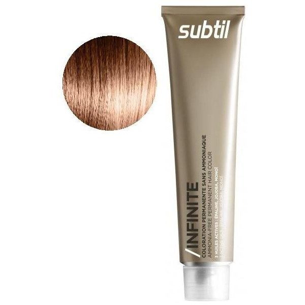 SUBTIL Infinite 8-34 - Biondo chiaro dorato rame - 60 ml