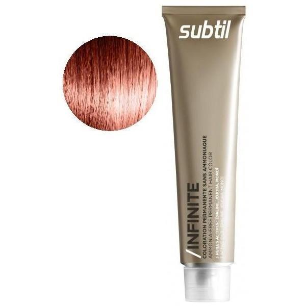 Subtle Cream Infinite 60 ML 7.44 deep copper blond