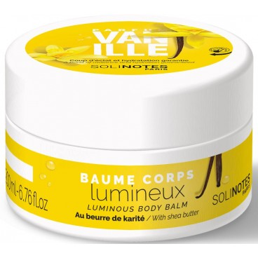 Baume corps Vanille Solinotes 200ML