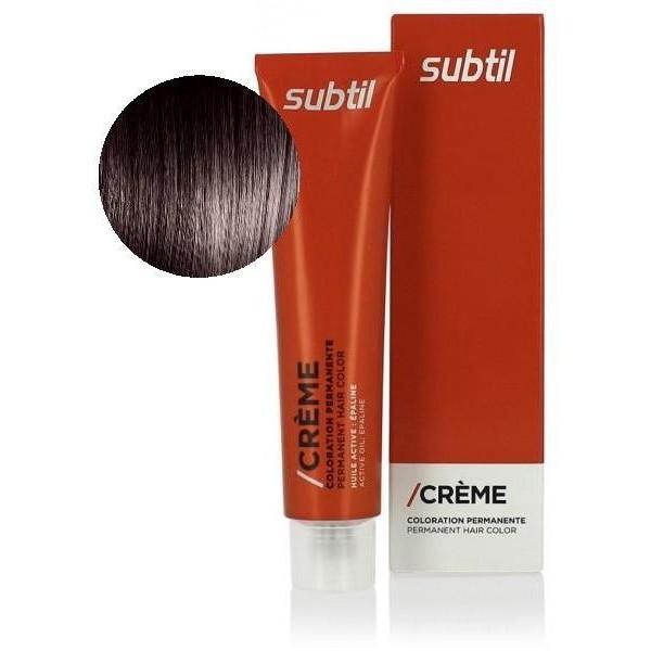 Subtil Creme N 4 77 Chatain Marron Intense 60 Ml