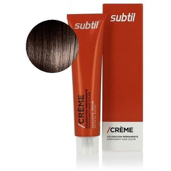 Crema sutil Nº 6.72 Rubio oscuro marrón iridiscente 60 ML