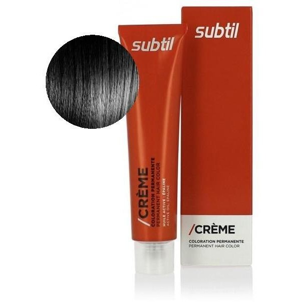 Crema sutil Nº 1 Negro 60 ML