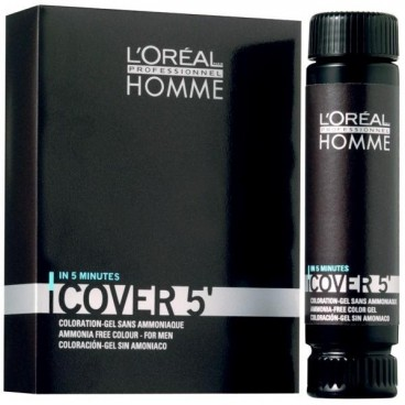 Cover 5 l'oréal homme chatain